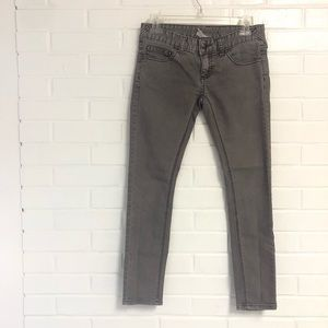 Free People 25 Gray Skinny Jeans